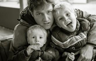 パパと子供たち