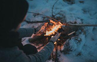火の暖かさ