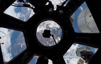 宇宙船から見た地球